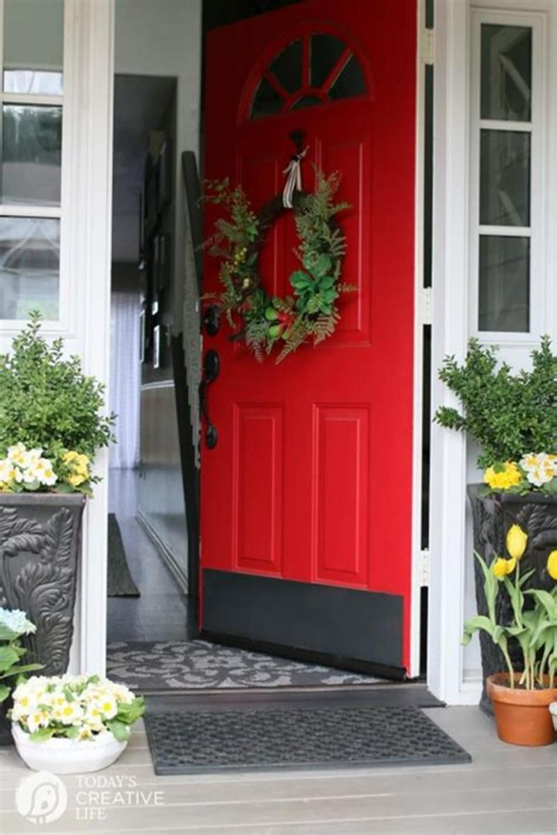 40 Beautiful Spring Front Porch Decorating Ideas You Will Love 7