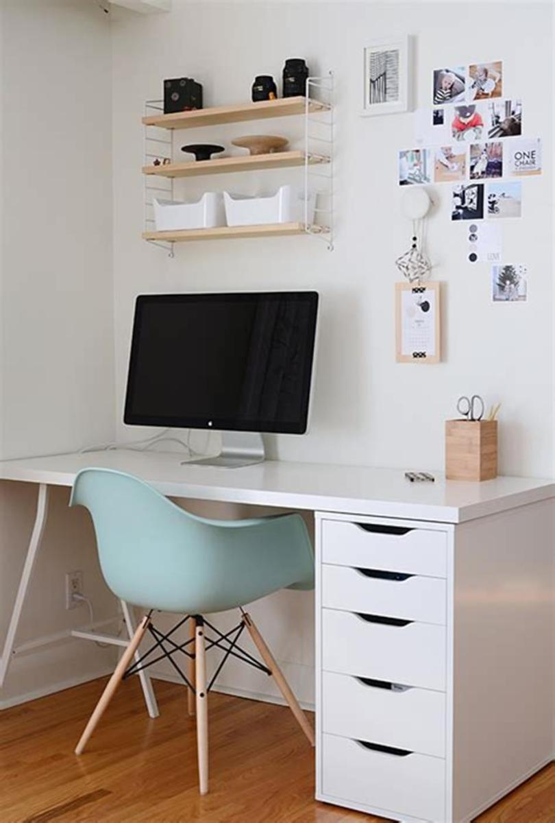50 Cheap IKEA Home Office Furniture with Design and Decorating Ideas 1
