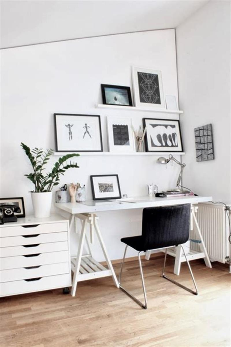 50 Cheap IKEA Home Office Furniture with Design and Decorating Ideas 17