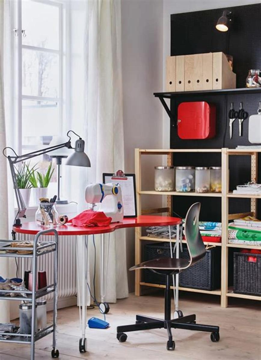 50 Cheap IKEA Home Office Furniture with Design and Decorating Ideas 35