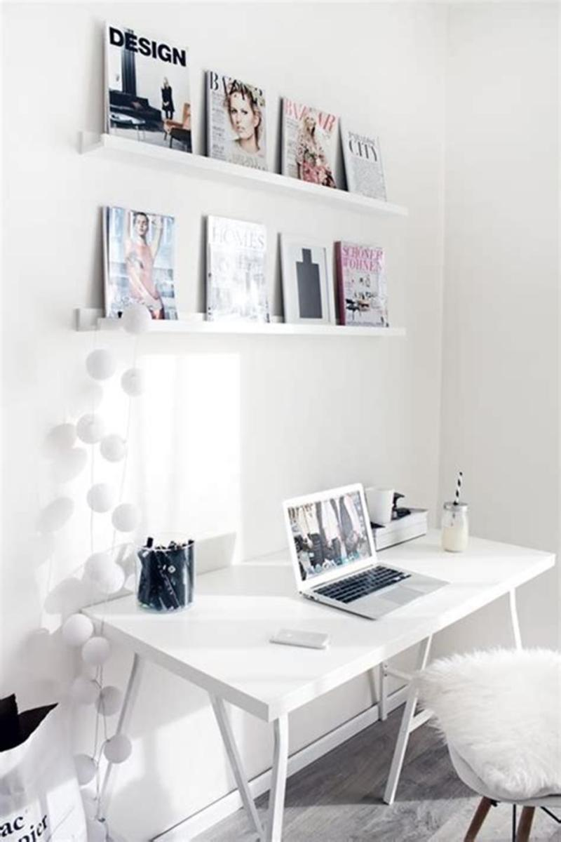 50 Cheap IKEA Home Office Furniture with Design and Decorating Ideas 37