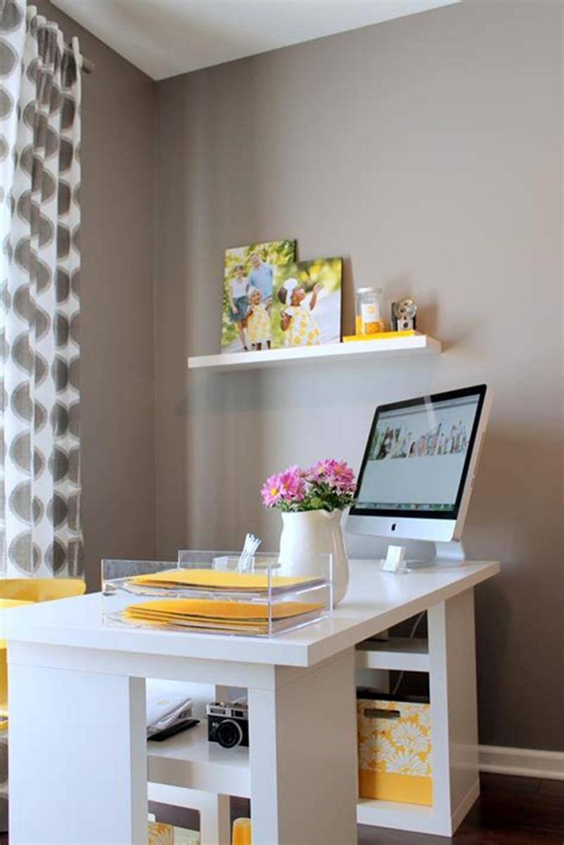 50 Cheap IKEA Home Office Furniture with Design and Decorating Ideas 55