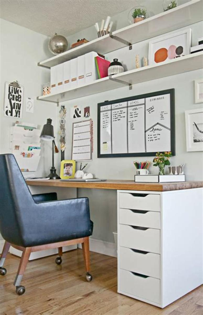50 Cheap IKEA Home Office Furniture with Design and Decorating Ideas 57