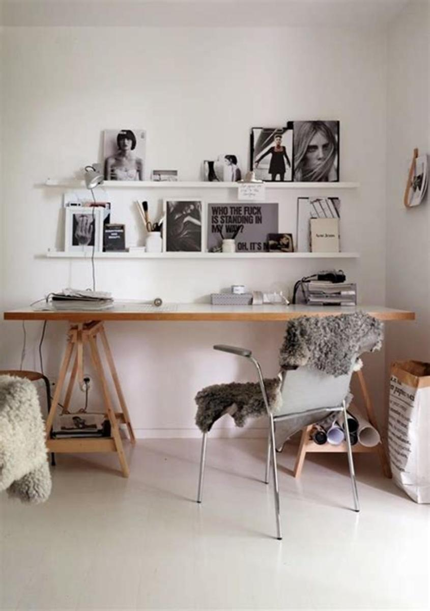 50 Cheap IKEA Home Office Furniture with Design and Decorating Ideas 6