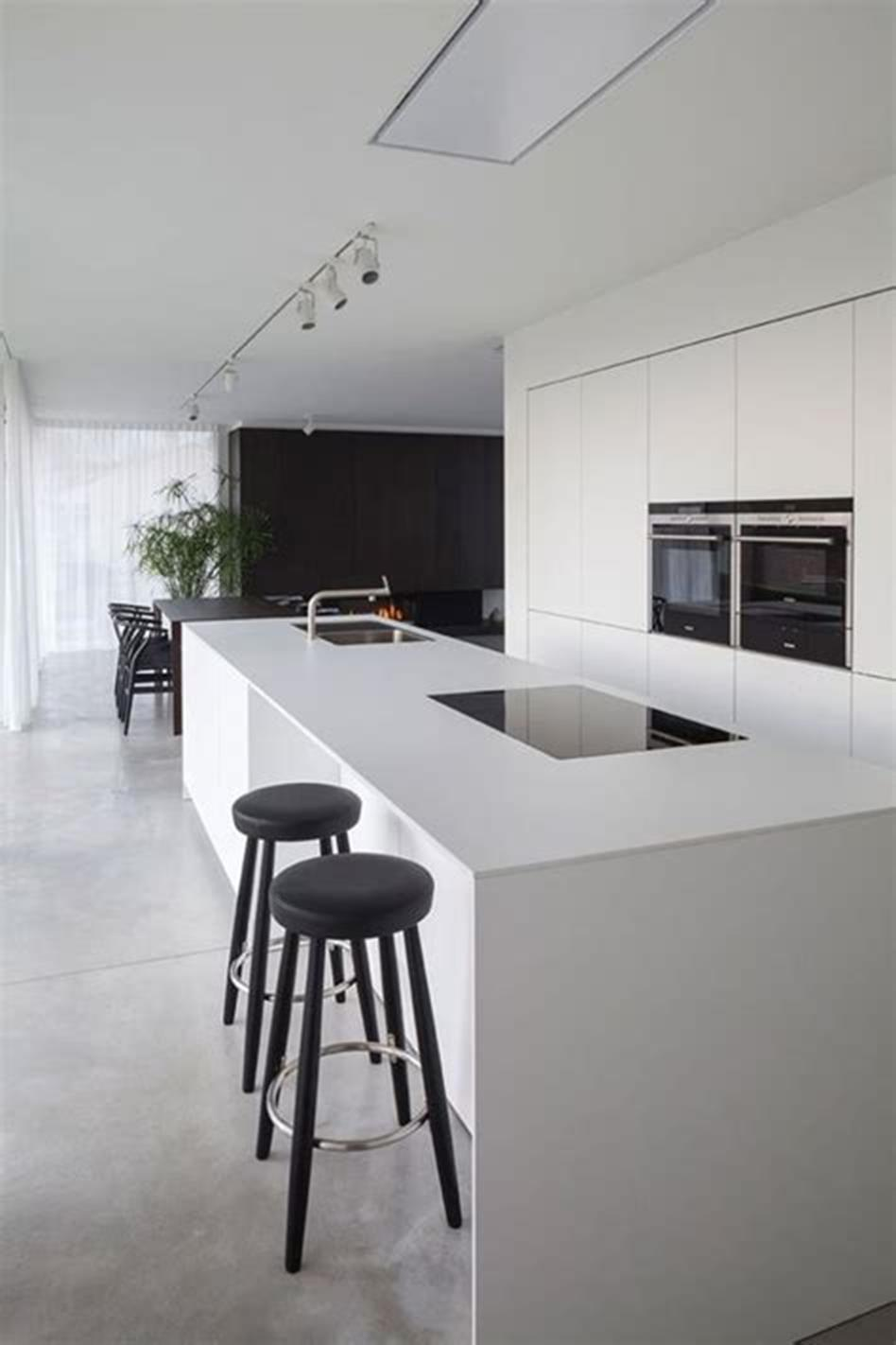 35 Stunning Contemporary Kitchen Design Ideas Youll Love 27