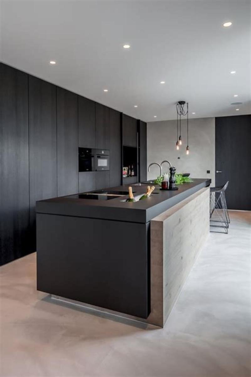 35 Stunning Contemporary Kitchen Design Ideas Youll Love 43