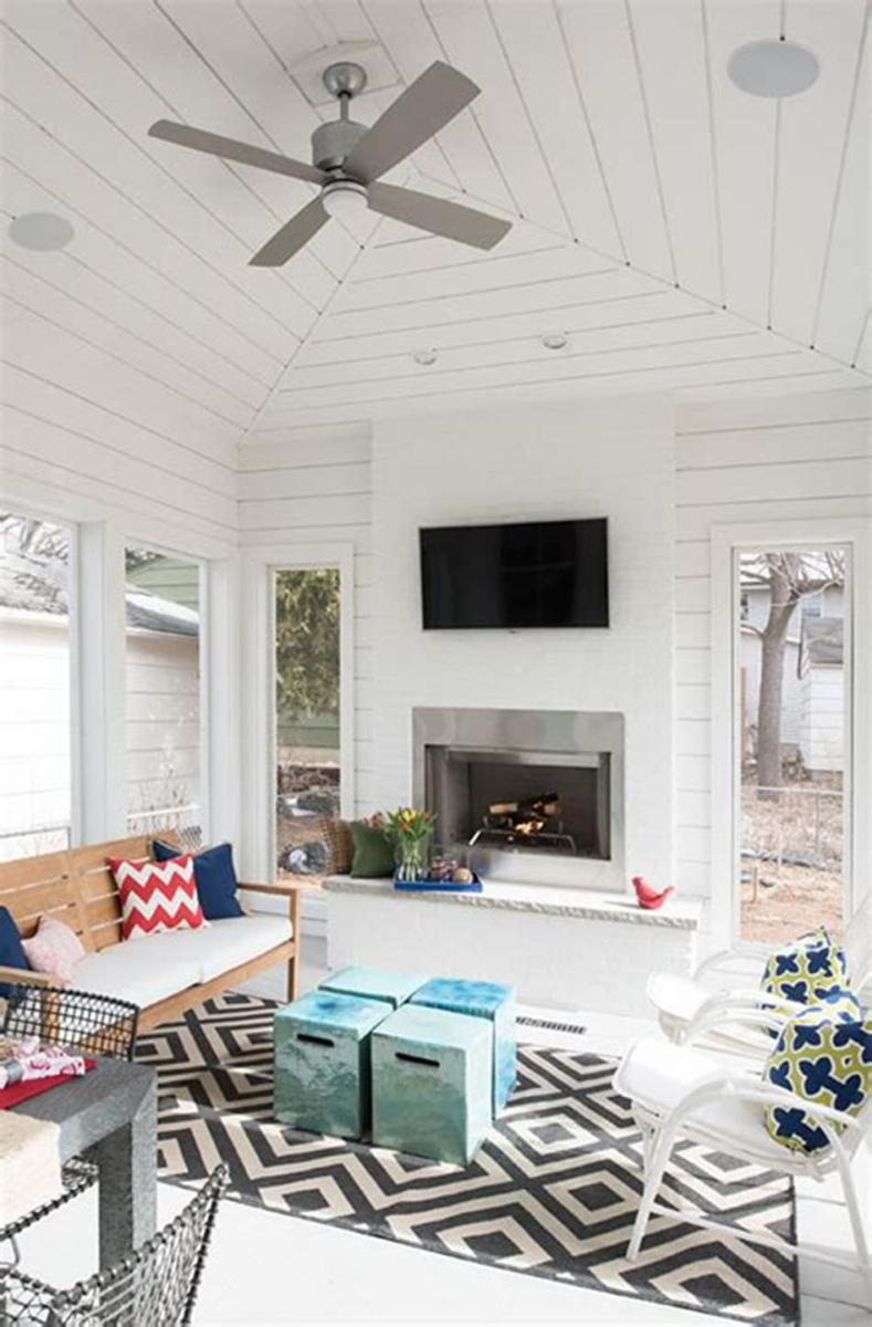 40 Best Screened Porch Design and Decorating Ideas On Budget 1