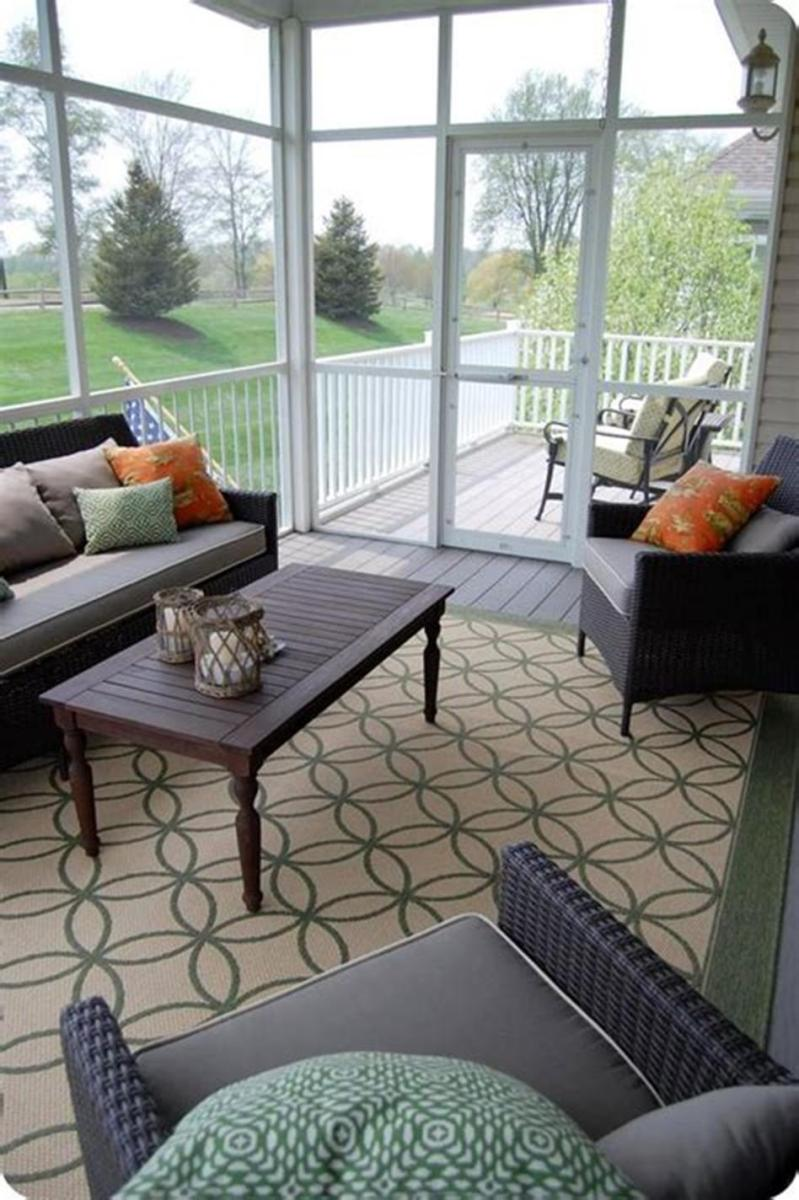 40 Best Screened Porch Design and Decorating Ideas On Budget 12