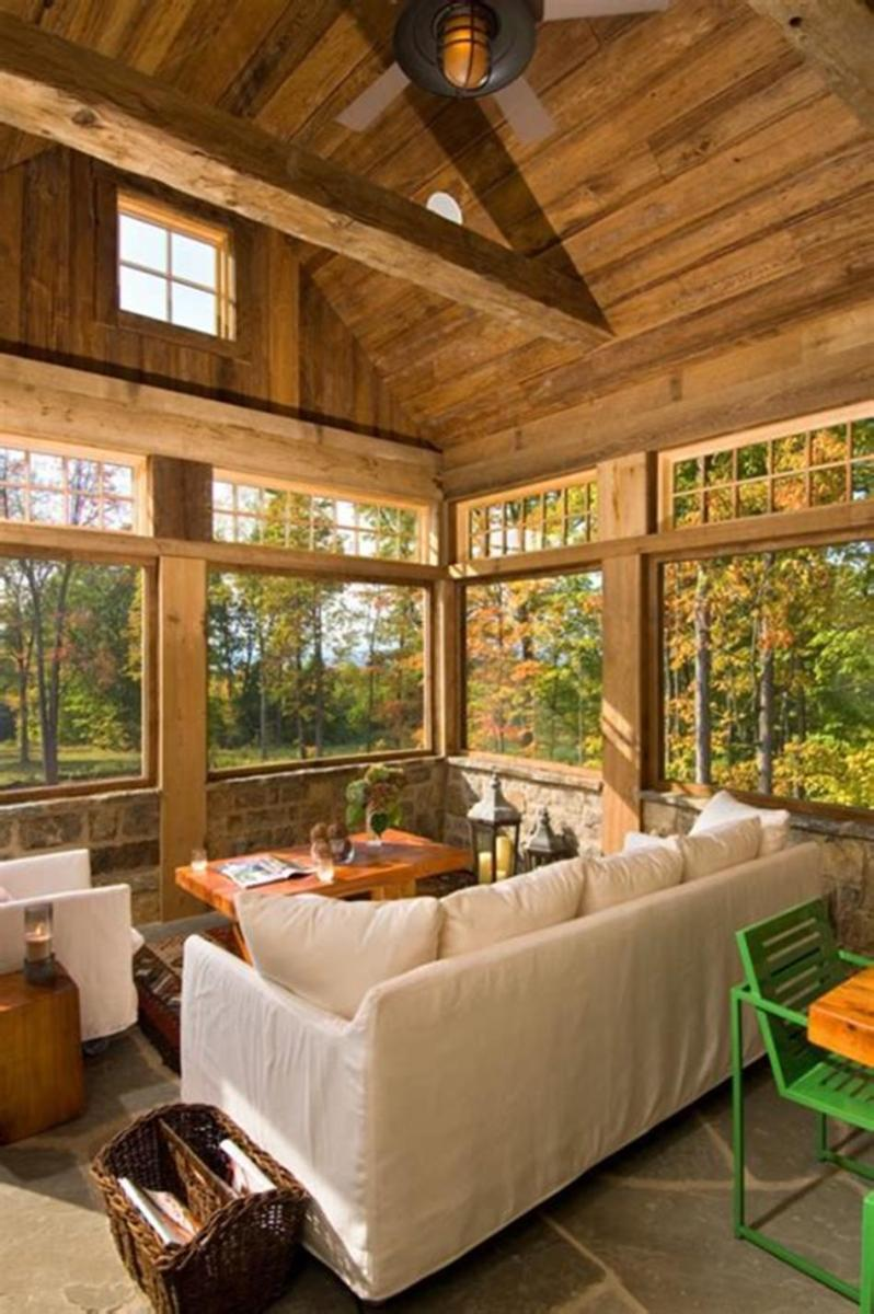 40 Best Screened Porch Design and Decorating Ideas On Budget 13