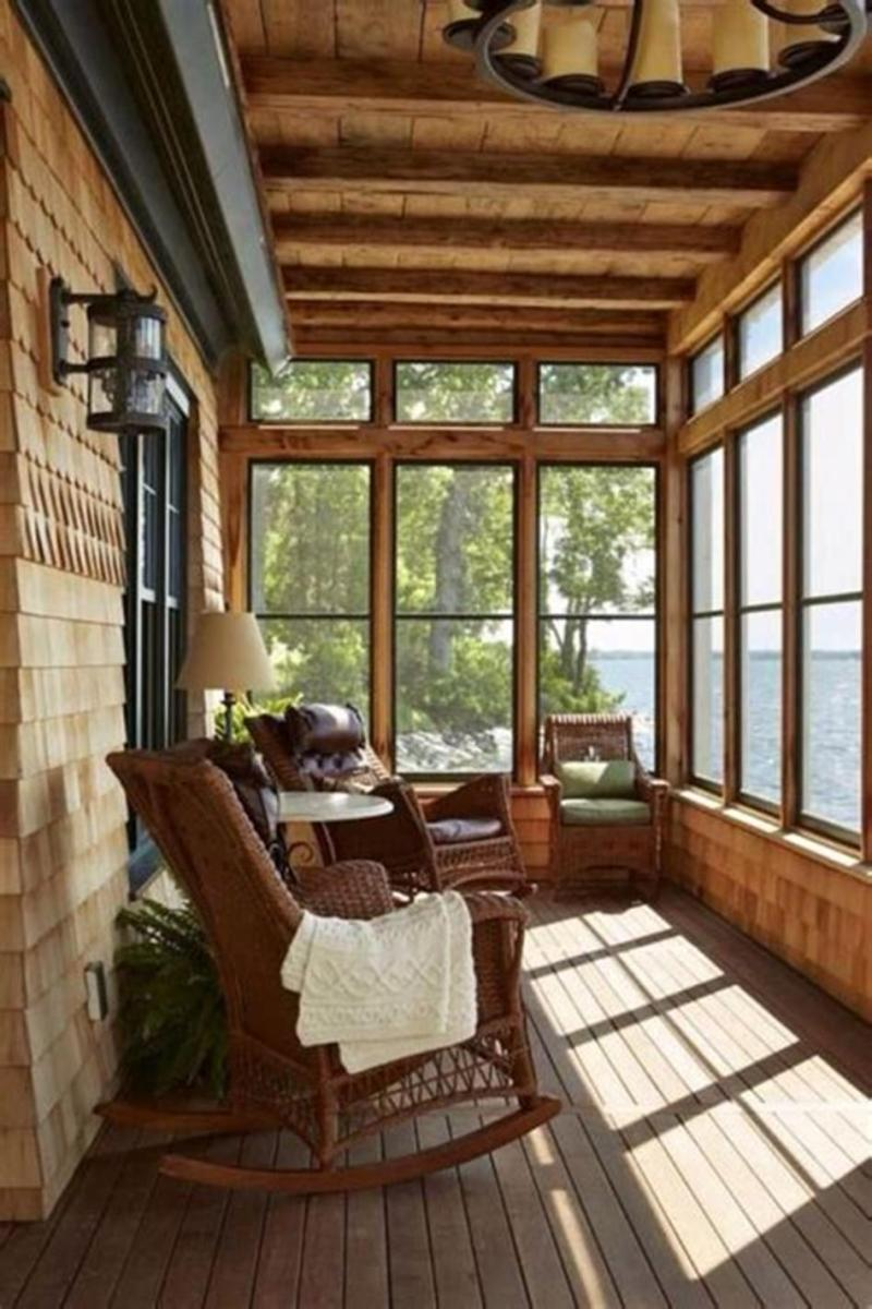 40 Best Screened Porch Design and Decorating Ideas On Budget 19