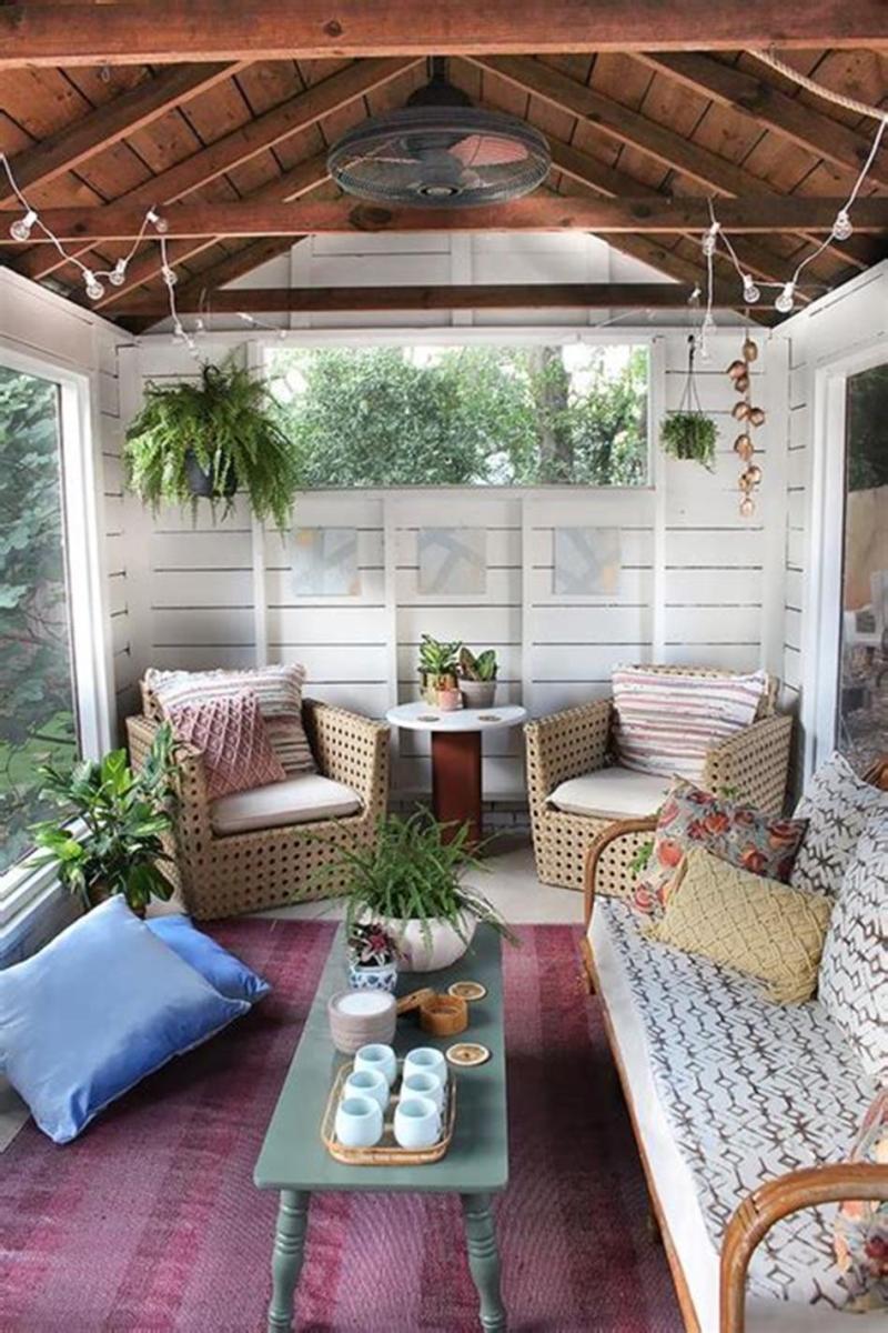 40 Best Screened Porch Design and Decorating Ideas On Budget 22
