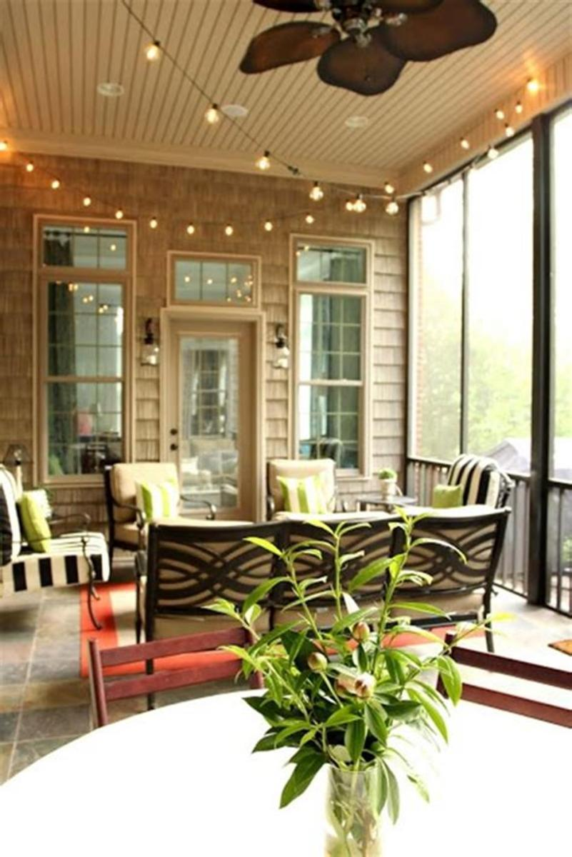 40 Best Screened Porch Design and Decorating Ideas On Budget 39