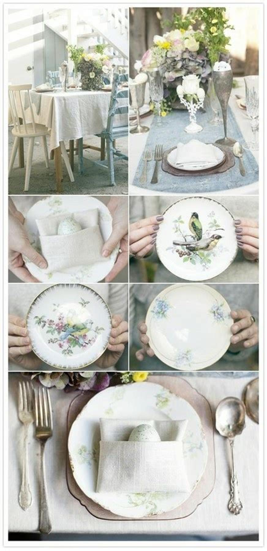 42 DIY Beautiful Vintage Spring Decorations Ideas You Will Love 11