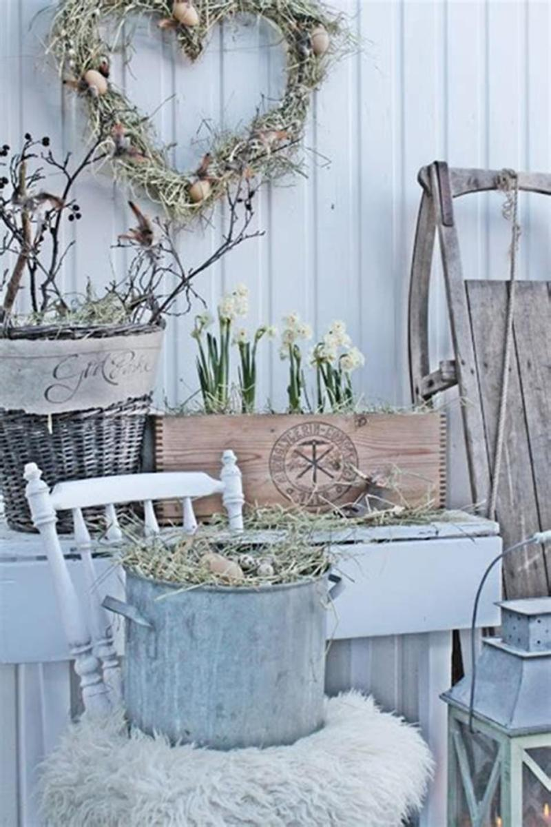 42 DIY Beautiful Vintage Spring Decorations Ideas You Will Love 15