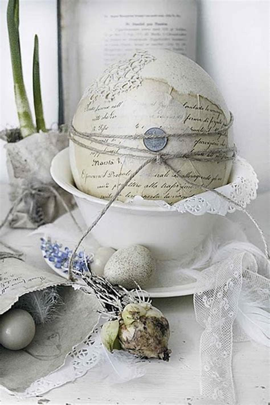 42 DIY Beautiful Vintage Spring Decorations Ideas You Will Love 36