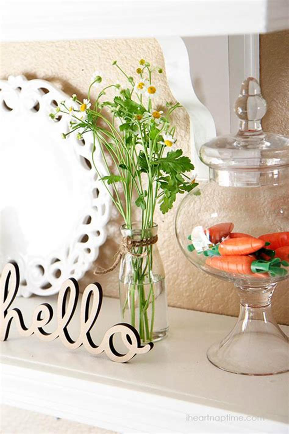 42 DIY Beautiful Vintage Spring Decorations Ideas You Will Love 9