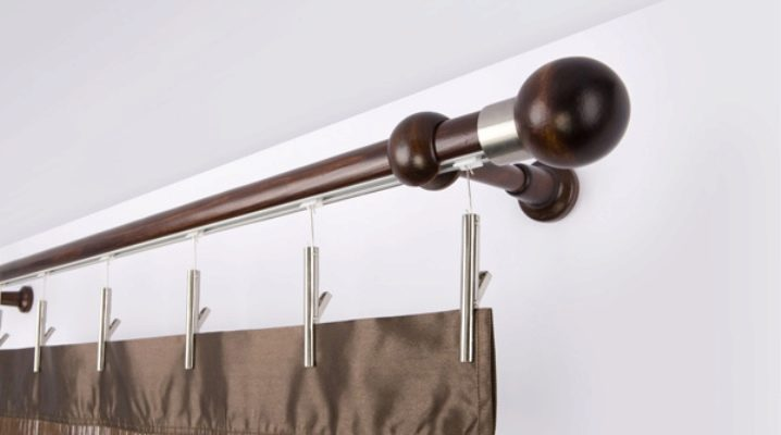 wooden curtain rods for curtains 39
