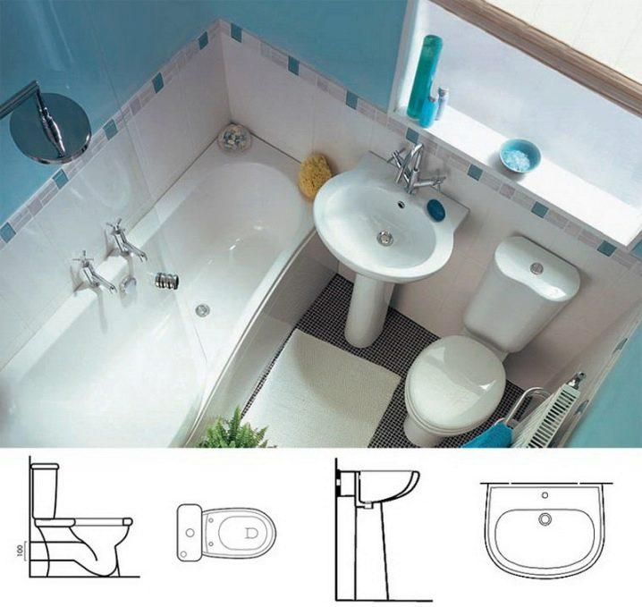 Thiết kế mặt bằng phòng tắm 4m2