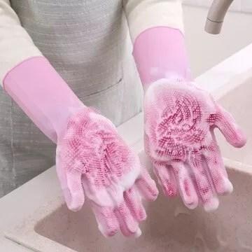 Silicon Dish-washing gloves @ Sh. 950