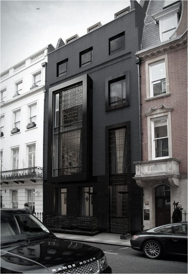 Black House Exterior Inspirations
