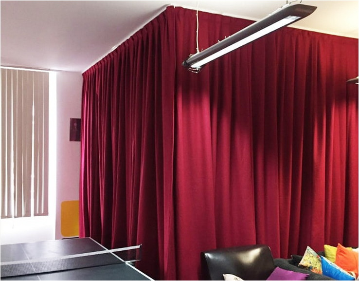 Beautiful And Unique Room Divider Curtains (29)