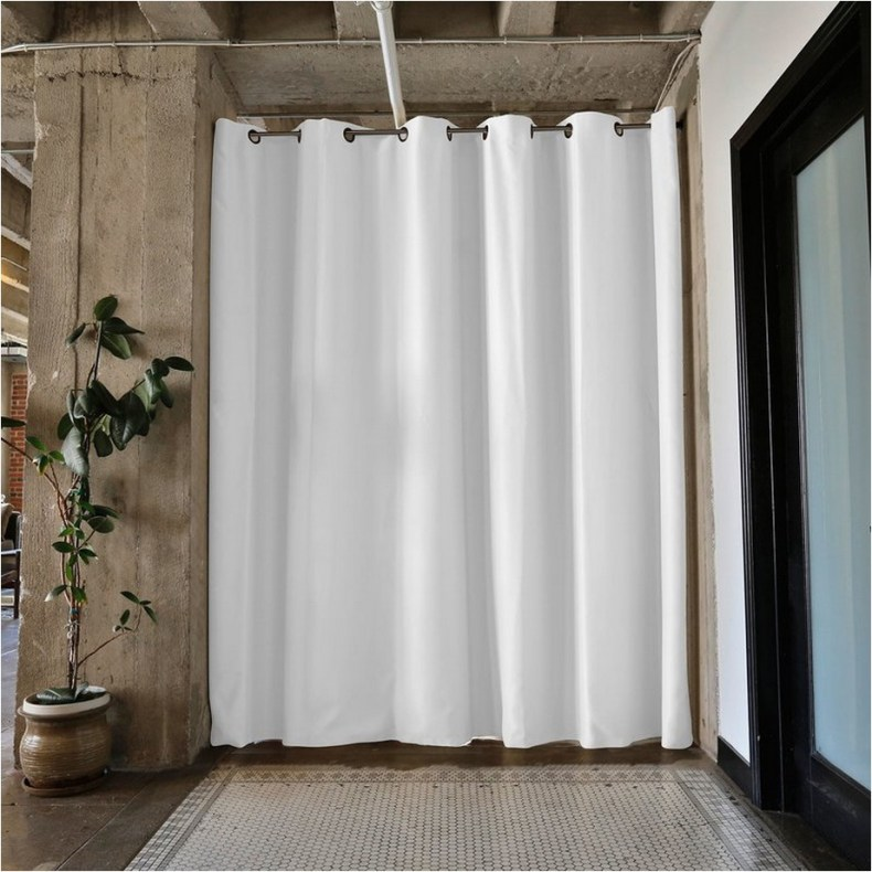 Beautiful And Unique Room Divider Curtains (45)
