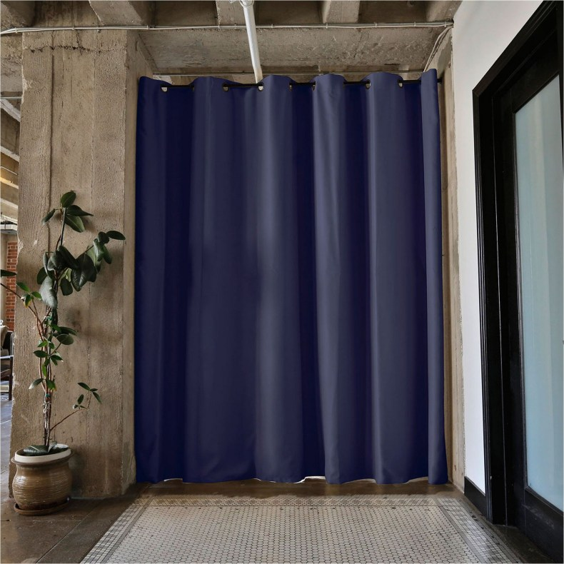 Beautiful And Unique Room Divider Curtains (84)