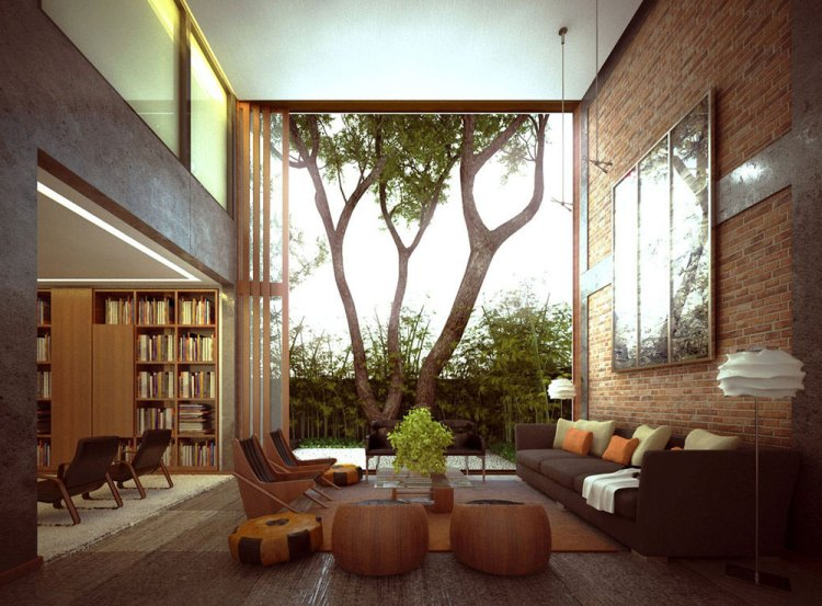 Gritting And Moisture In A Brick Interior Ideas For A House