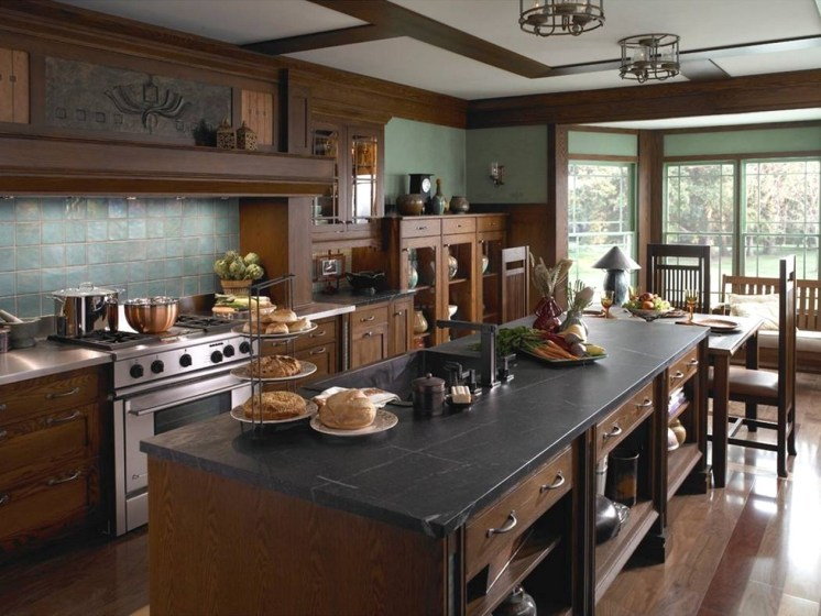 Awesome Craftsman Kitchen Design Ideas Remodel (62)