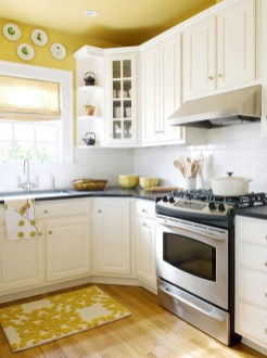 Cream Kitchen Cabinets With Wood Floors On A Budget