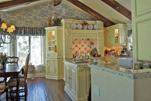 French Country Kitchen Cabinet Paint Colors