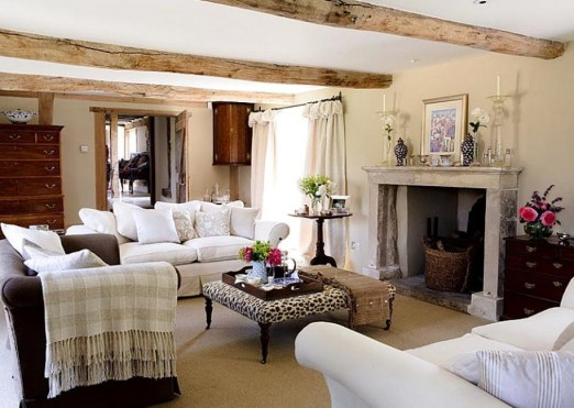 Gorgeous Farmhouse Living Room Decor Ideas And Designs (52)