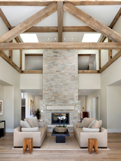 Gorgeous Farmhouse Living Room Decor Ideas And Designs (53)