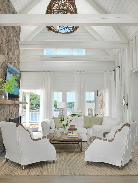 Beach House Interior Design Ideas And Decorations (38)
