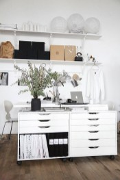 Chick Home Office Layout Ideas Decorating