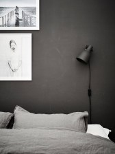 Dark Grey Bedrooms Decorating Design Ideas (2)