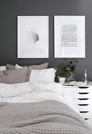 Dark Grey Bedrooms Decorating Design Ideas (4)