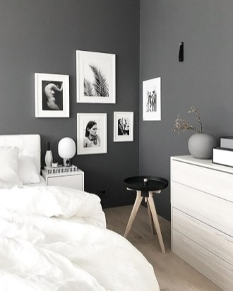 Dark Grey Bedrooms Decorating Design Ideas (44)