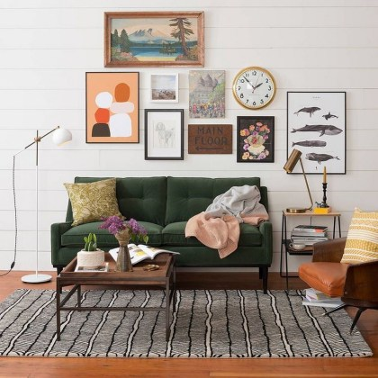 Eclectic And Quirky Living Room Decor Styling Ideas (21)