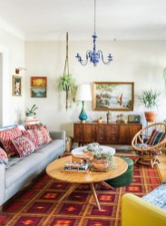 Eclectic And Quirky Living Room Decor Styling Ideas (40)