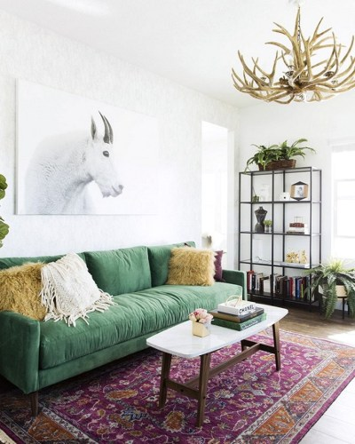 Eclectic And Quirky Living Room Decor Styling Ideas (70)