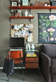 Home Office Ideas With Glass Desk