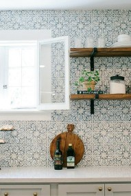 Kitchen Tile Backsplash Ideas Suitable For Your Kitchen (41)
