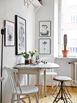 Rustic Small Kitchen Drop Leaf Tables For Small Spaces