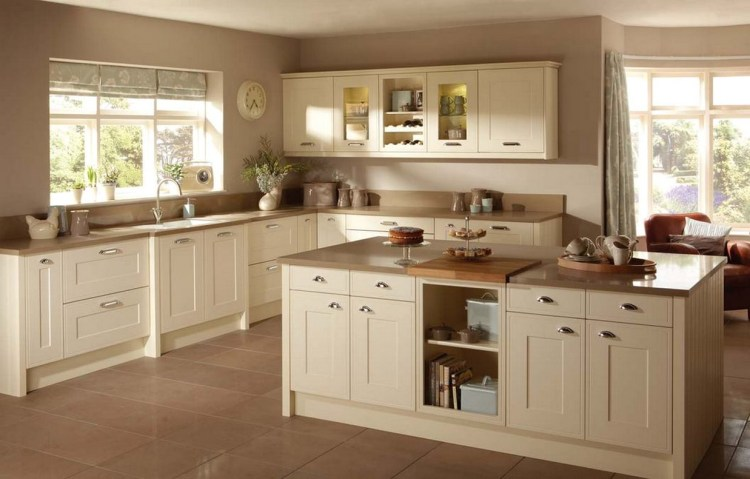 [80+ BEST] Simple And Elegant Cream Colored Kitchen Cabinets Design Ideas