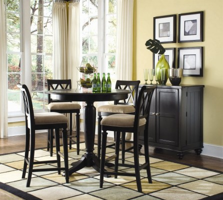 Small Dark Brown Kitchen Tables And 4 Chairs