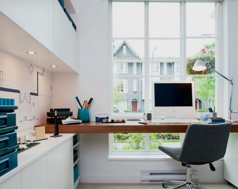 Small Home Office Layout Ideas