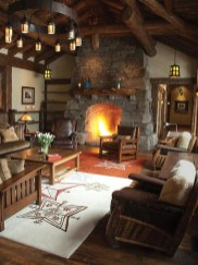 Stunning Rustic Living Room Design Trends and Ideas (18)