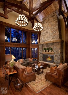 Stunning Rustic Living Room Design Trends and Ideas (19)