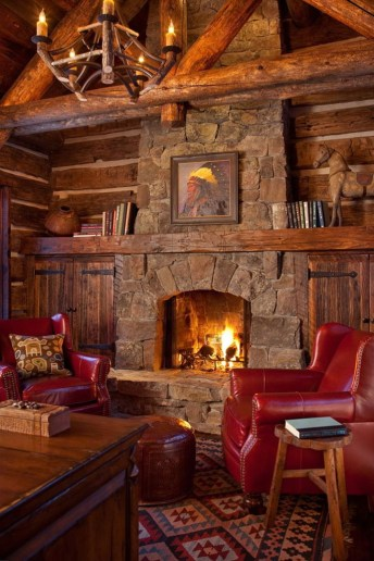 Stunning Rustic Living Room Design Trends and Ideas (21)